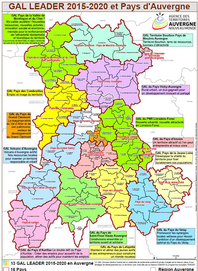 Pays Vichy Auvergne